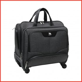 "Santhome Caryonn 17"", 4 Wheel Trolley Bag"