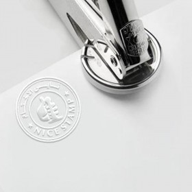 Block Embossing Stamp or Raised Seal for Notary or Documents