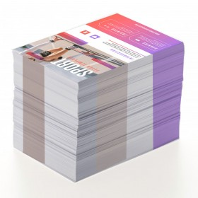 Take or Leave 1000 Flyers for AED 115 - Different Sizes DL A6 A5 A4 A3 - CMYK Printing on 170gsm and 350 gsm art glossy material