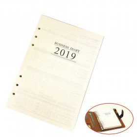 2021 Refill Insert A5 Agenda Organiser Filofax for Diary