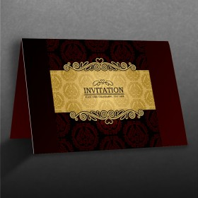 Invitation Card - Folded