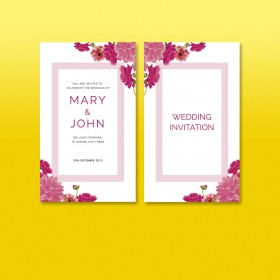 Invitation Card (Wedding & Birthday)
