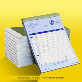 Invoice Books A4 (Manual NCR)