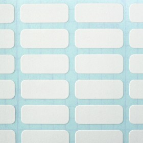 White Pre Cut Self Adhesive Labels (Kiss cut A4 Stickers)