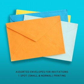 Printed Party Envelope