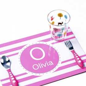 Placemat / Mousepad Hard board 19x23cms Sublimation CMYK - Variable Data
