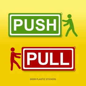 Door Sticker (Push/Pull)