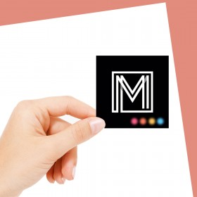 Square Business Card Qty 1000