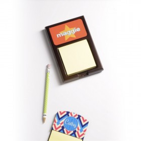 Sticky Note Holder with Hardboard / Aluminium insert - Sublimation CMYK 4 Color Print - Common Data