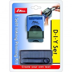 DIY Self Inking Stamp Kit (Do It Yourself)