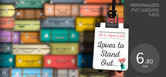 Personalized Luggage Tags for every traveller