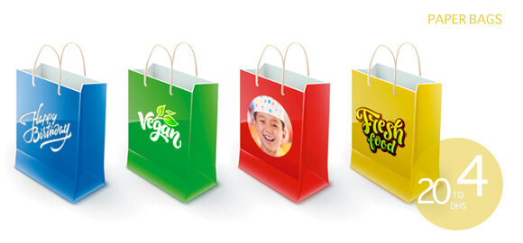 Personalized Customized Paper and Non Woven and Jute Bags