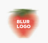 Example of Blurred Edge Logo